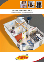 DISTRIBUTION D'AIR CHAUD